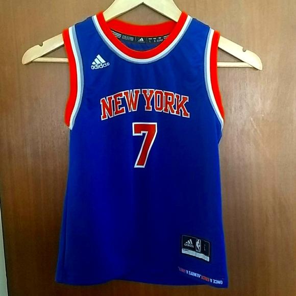 New York Knicks Adidas Carmelo Anthony NBA Jersey